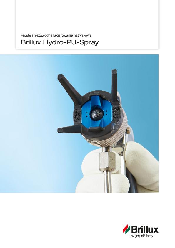 Brillux Hydro-PU-Spray